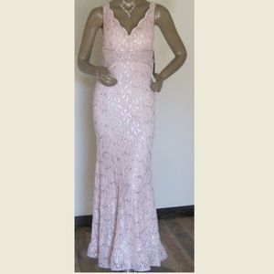 NWT My Michelle Gowns Long Pink Prom Formal Event